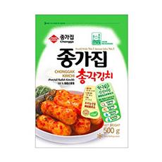 KR CHONGGA Chonggak Kimchi 10x500g