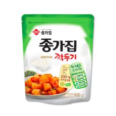 KR CHONGGA Kaktugi Kimchi 10x500g
