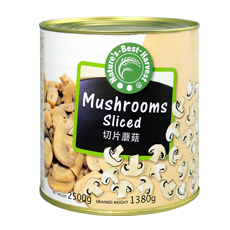 NBH Sliced Mushrooms 3rd Quality 6x2500g (tin)