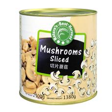 NBH Sliced Mushrooms 3rd Quality 6x2500g (tin)