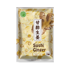 Sushi Ginger Slices White 10x1kg